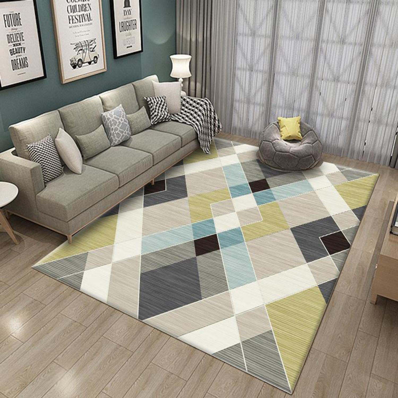 Chọn Thảm Lot San Nha Như Thế Nao Visual Ly In 2020 Living Room Carpet Rugs Carpet Design #patterned #carpet #living #room