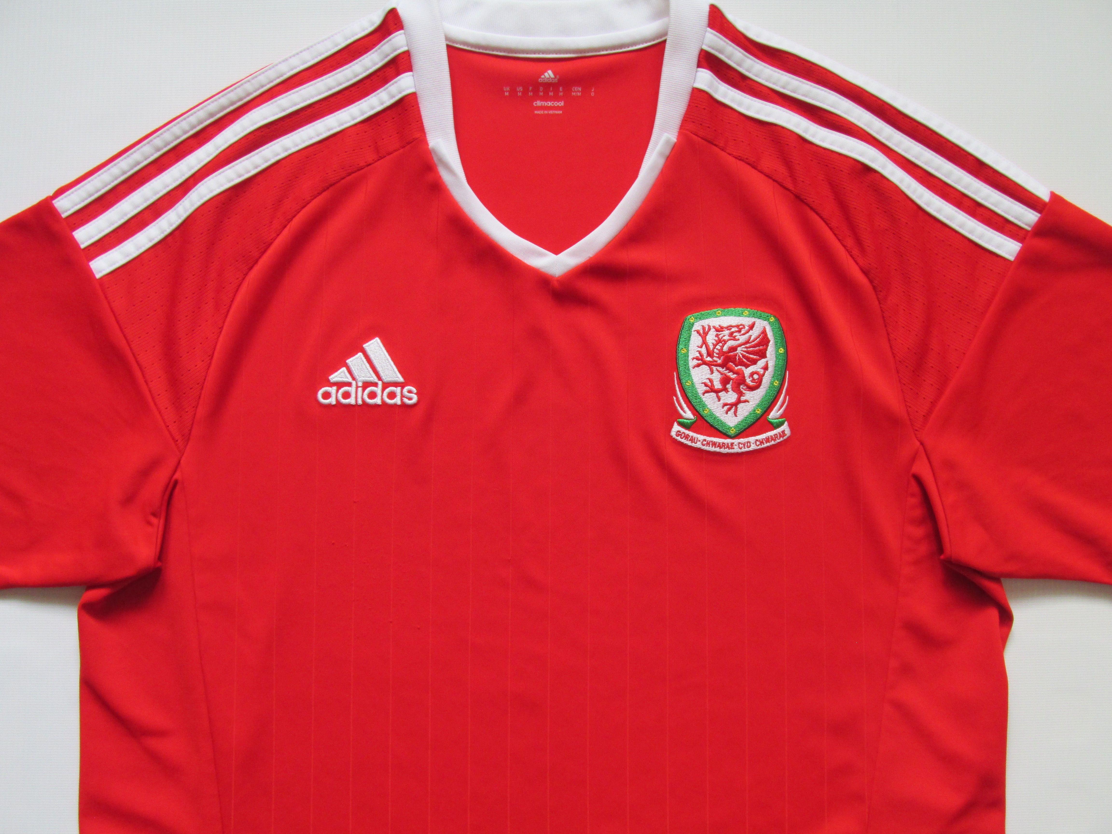 brand new 8e40c e4657 Wales 2015/2016 home football shirt by Adidas NT Euro2016 ...