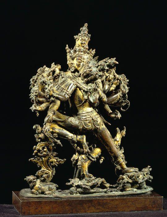 Cast for Eternity: Bronze Masterworks from India and the Himalayas NEPAL 10. Shrikantha Kamakala Nepal Malla dynasty, 14th century Bronze