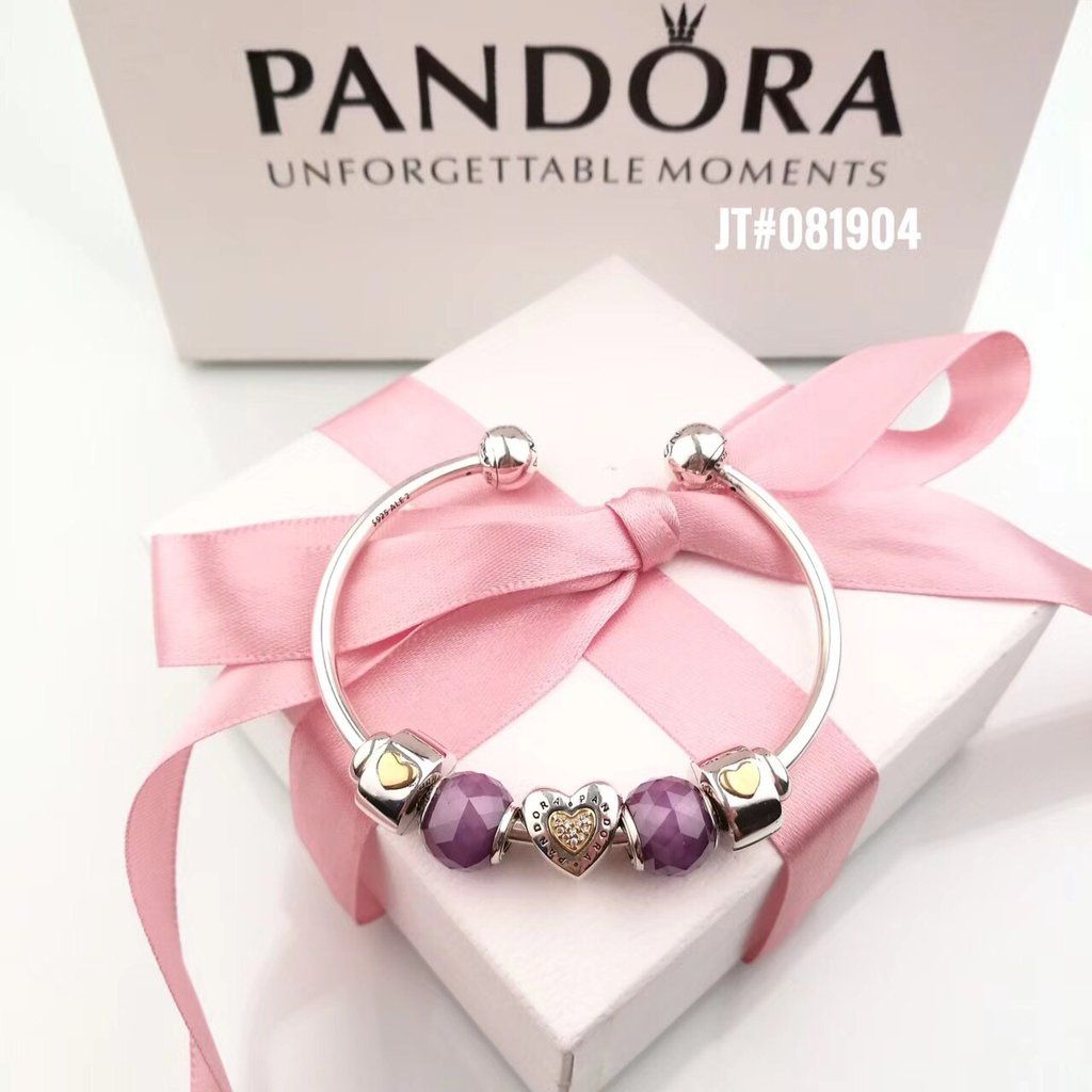 161 Pandora Luxury Open Charm Bracelet Pandora Bracelet Designs Bracelets Women Fashion Pandora Jewelry