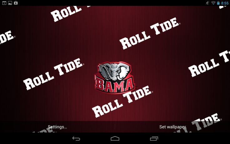 Pin By Barco Blanton On Roll Tide Roll Alabama Wallpaper