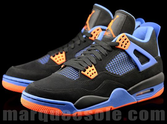 the best attitude 65d07 2fa10 air-jordan-4-new-york-knicks-2