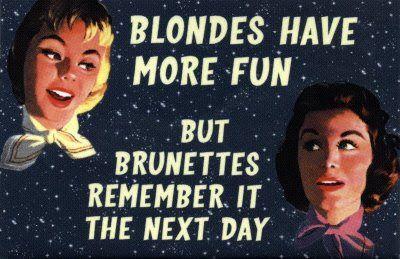 50 S Retro Sarcastic Humor Sarcastic Humor Dumb Blonde Jokes Retro Humor