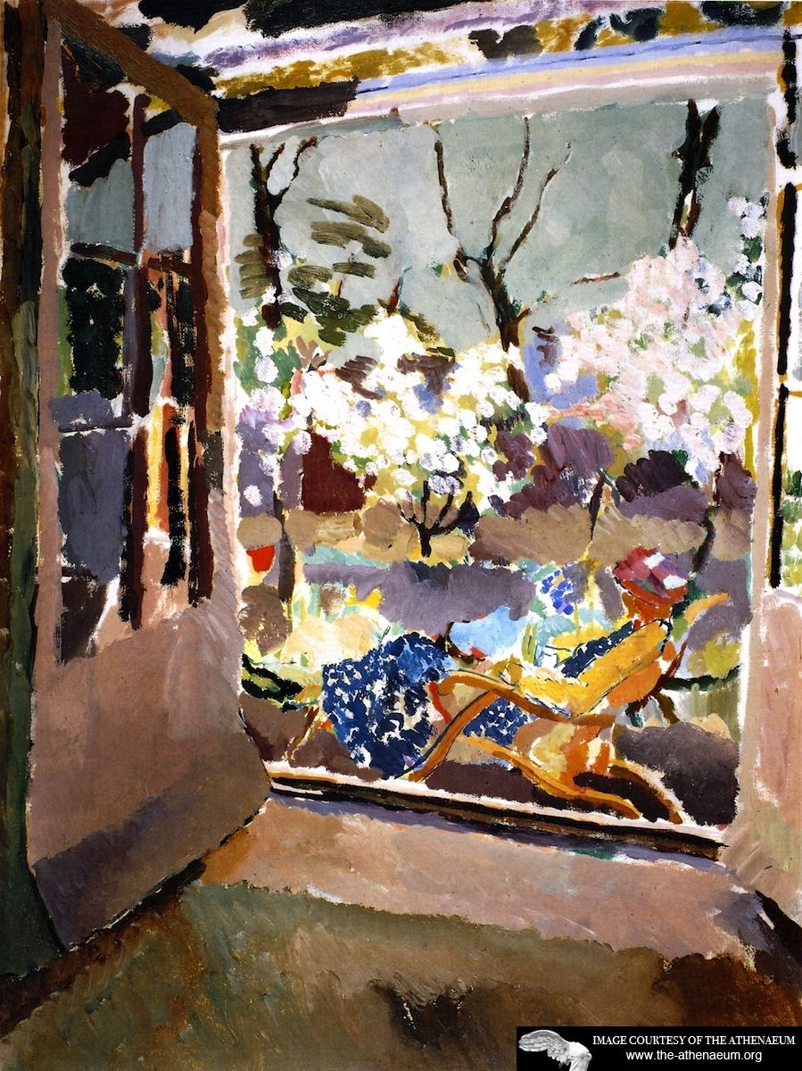 The Room with a View  Duncan Grant - 1919