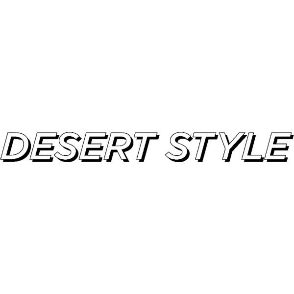 Desert Style ❤ liked on Polyvore featuring text and words