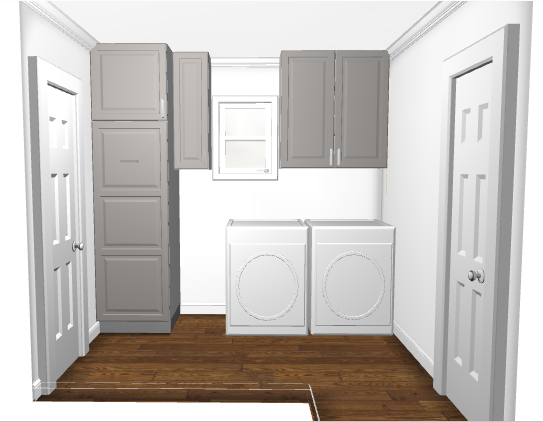 laundry room layout water heater inside pantry cabinet ikea
