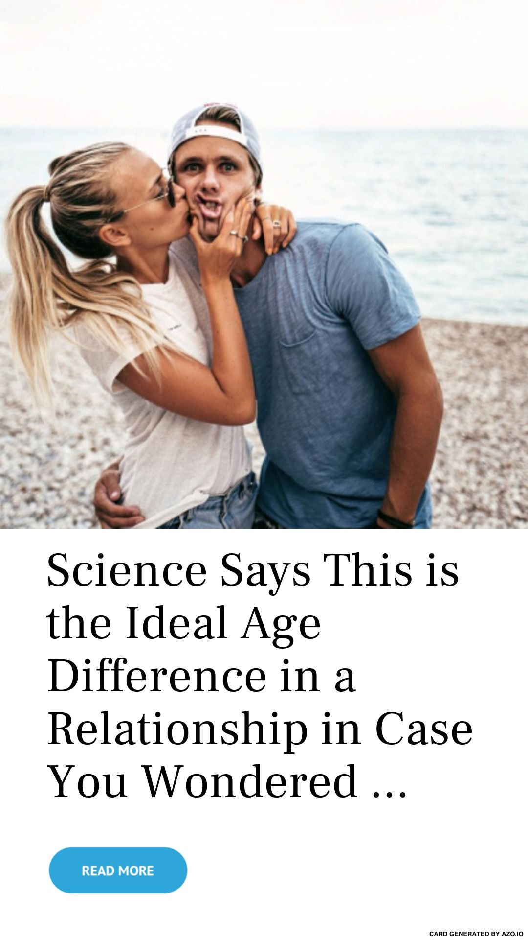 What is the ideal age to start dating