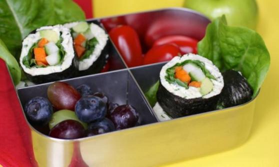 Chicken mayo nori rolls - Kidspot #paleolunch