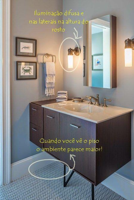 para banheiros e lavabos pequenos - lavabos pequeos