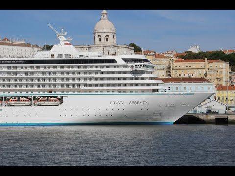 Crystal Cruises Crystal Serenity Cruise Ship Tour Crystal Cruises Serenity Crystal Cruises Luxury Cruise Ship