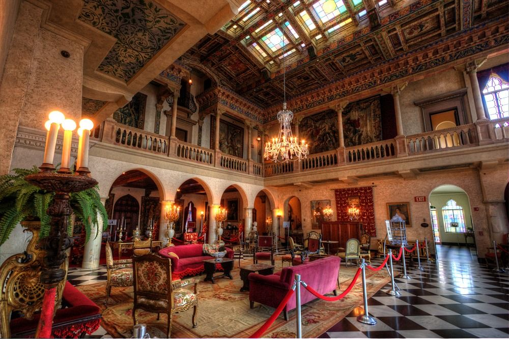 The Interiors Of The Ringling Mansion Ca D Zan Mansions