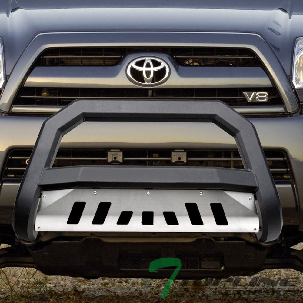 Matte Blk Avt Bold Bull Bar Brush Push Bumper Guardss Skid 03 09 4runner Gx470 Ebay Link Bull Bar Lexus Gx470 Toyota 4runner