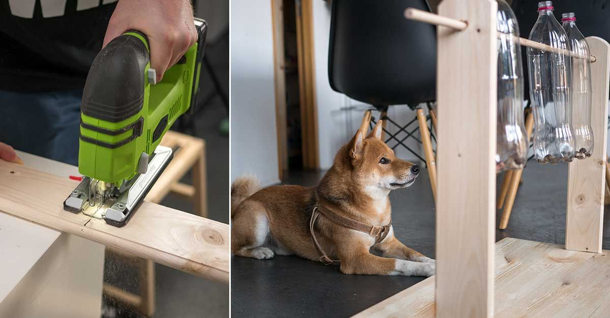 Spielen Und Futtern Sind Des Vierbeiners Zwei Lieblingsbeschaftigungen Unser Diy Hundespielzeug Vereint In 2020 Hundespielzeug Hundespielzeug Selber Machen Spielzeug