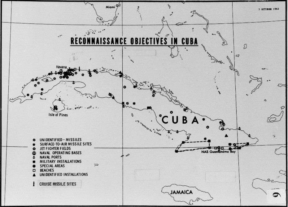 cia chart of objectives in cuba