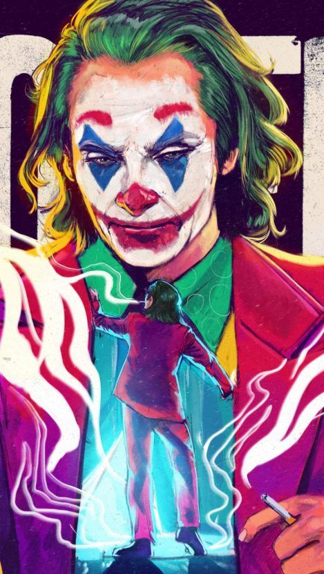 Iphone Wallpapers Wallpapers For Iphone Xs Iphone Xr And Iphone X Joker Art Joker Artwork Joker Hd Wallpaper