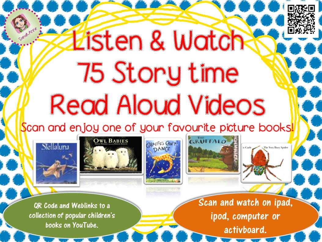 75 Read Aloud Picture Book Video Cards For Your Reading Corner Boost Your Classroom Library With 75 Popular Classroom Books Reading Classroom School Reading