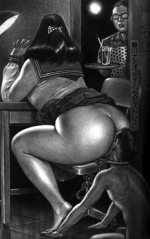 Erotic literature smother facesitting