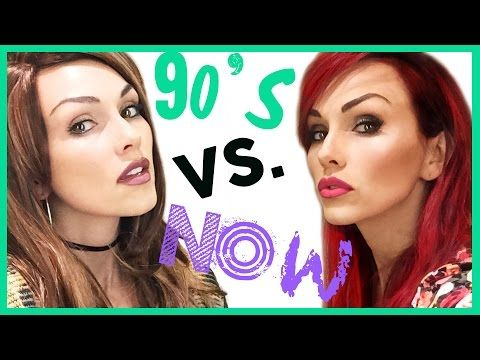 90 S Makeup And Styles Are Back And Here S A 90 S Vs Now Makeup