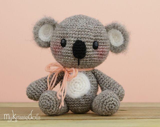 Amigurumi Oso Pijama : Amigurumi koala free crochet patterns and diy crafts