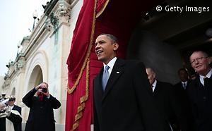 La cerimonia d'insediamento di Obama