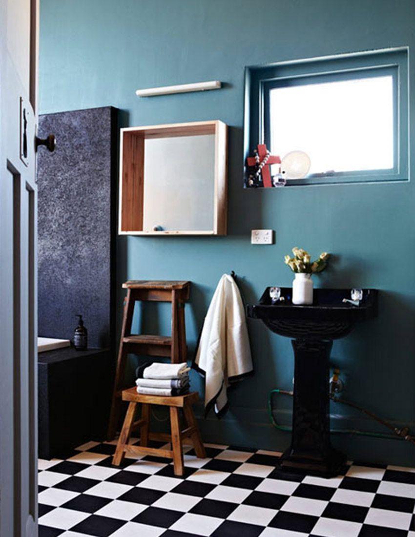 Check Mate: Our Favorite Checkered Floors (Design*Sponge)   Floor ...