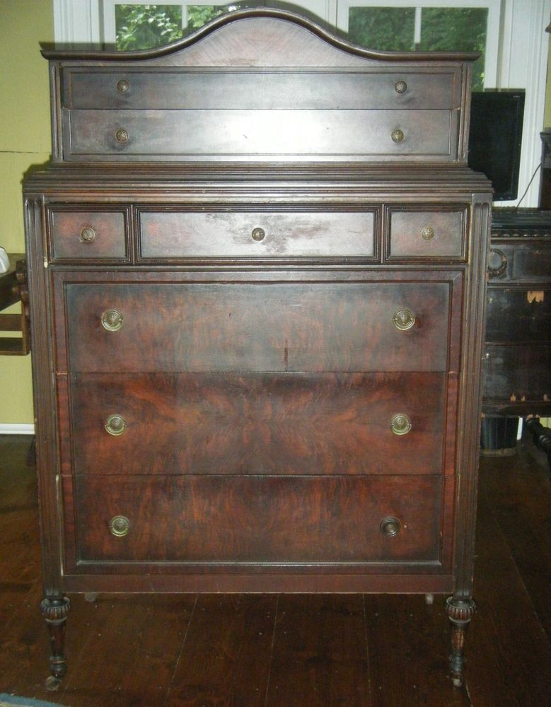 Graham and Brown 57218 Darcy Wallpaper Pearl Dark wood Dresser