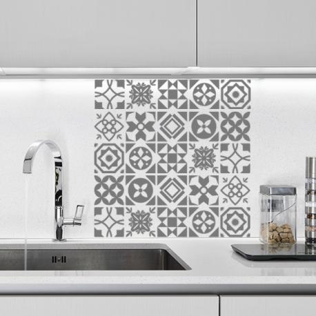 sticker carreau de ciment cuisine ou salle de bain | Stickers ...