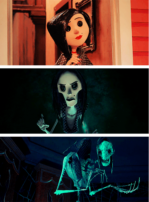 The Other Mother S Three Forms Throughout The Film A Combination Of These Three Will Be Created For My Final Other Mother Coraline Coraline Coraline Aesthetic