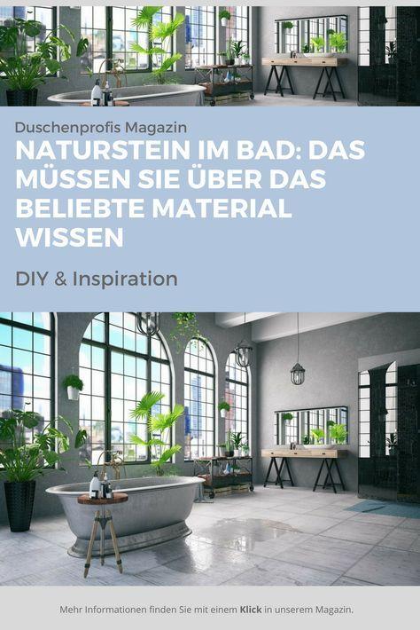 Naturstein Im Bad: Eigenschaften U0026 Vorteile Von Marmor U0026 Co. | Badezimmer  Ideen | Pinterest