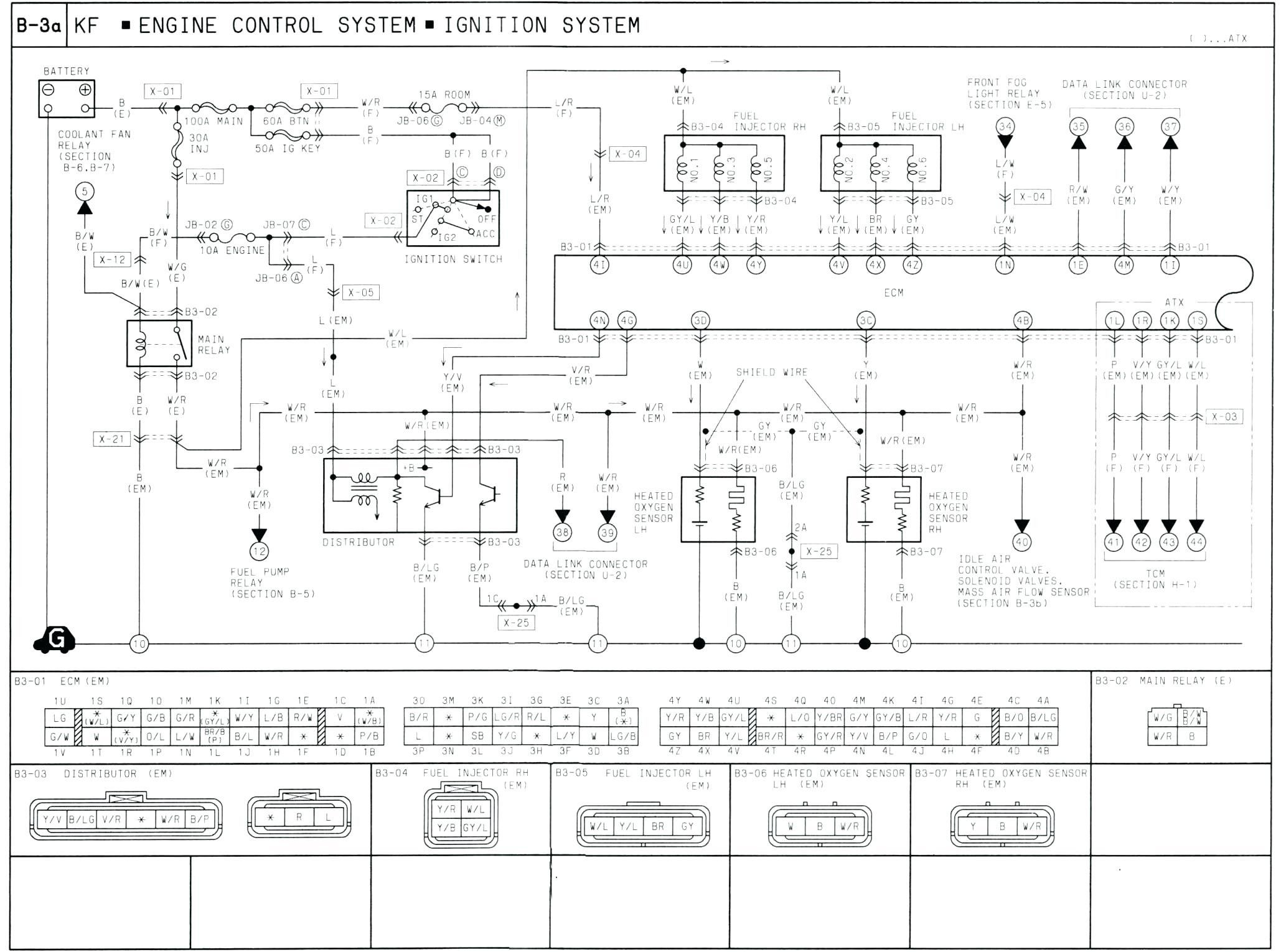 1986 Mazda B2000 Engine Diagram