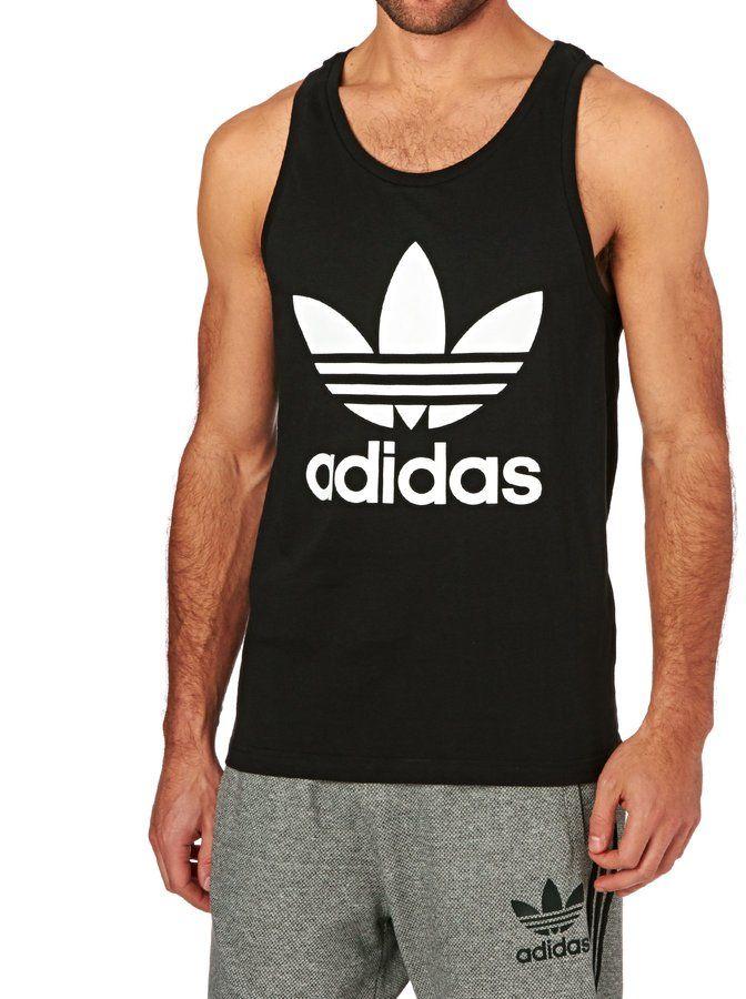 1f97c7915fa Adidas Originals Trefoil Tank | Sport Style / Fit Fashion | Adidas ...