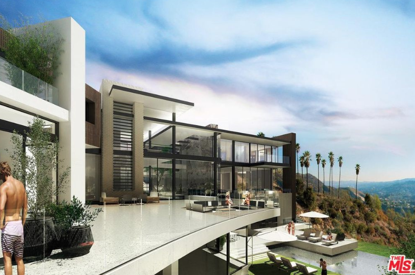 This Proposed Modern Mega Mansion Will Be Built At 960 Stradella Road In Los Angeles California On 2 Acres Of L Mansions Mega Mansions Los Angeles Real Estate