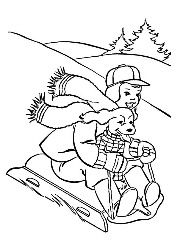 print coloring image - MomJunction  Christmas coloring pages
