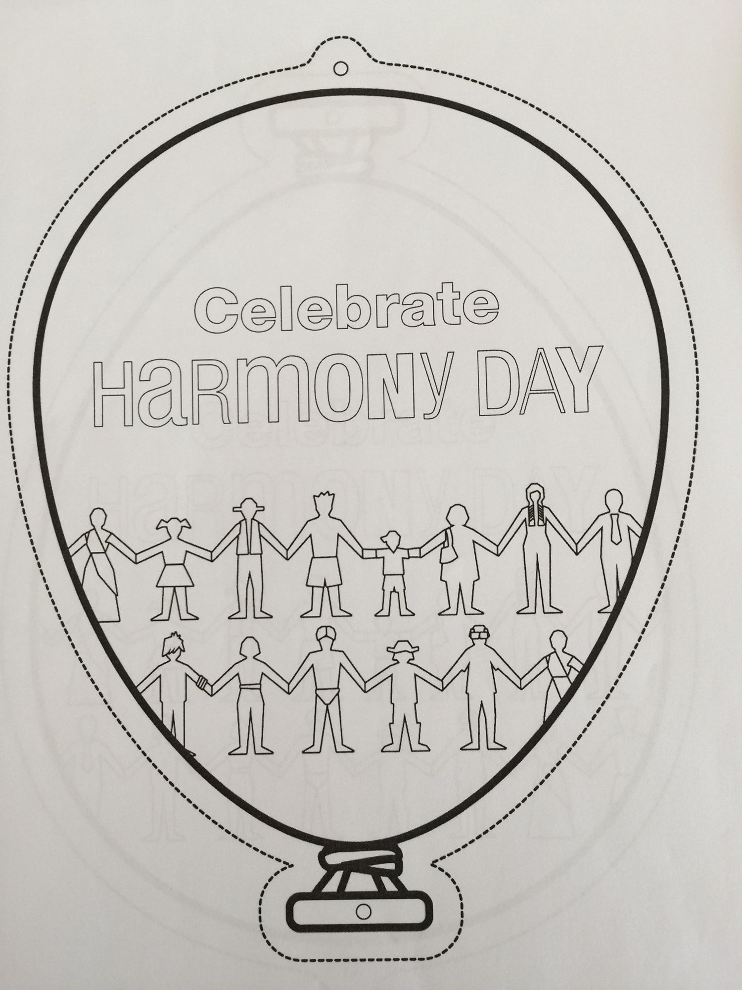 Harmony Day Balloon