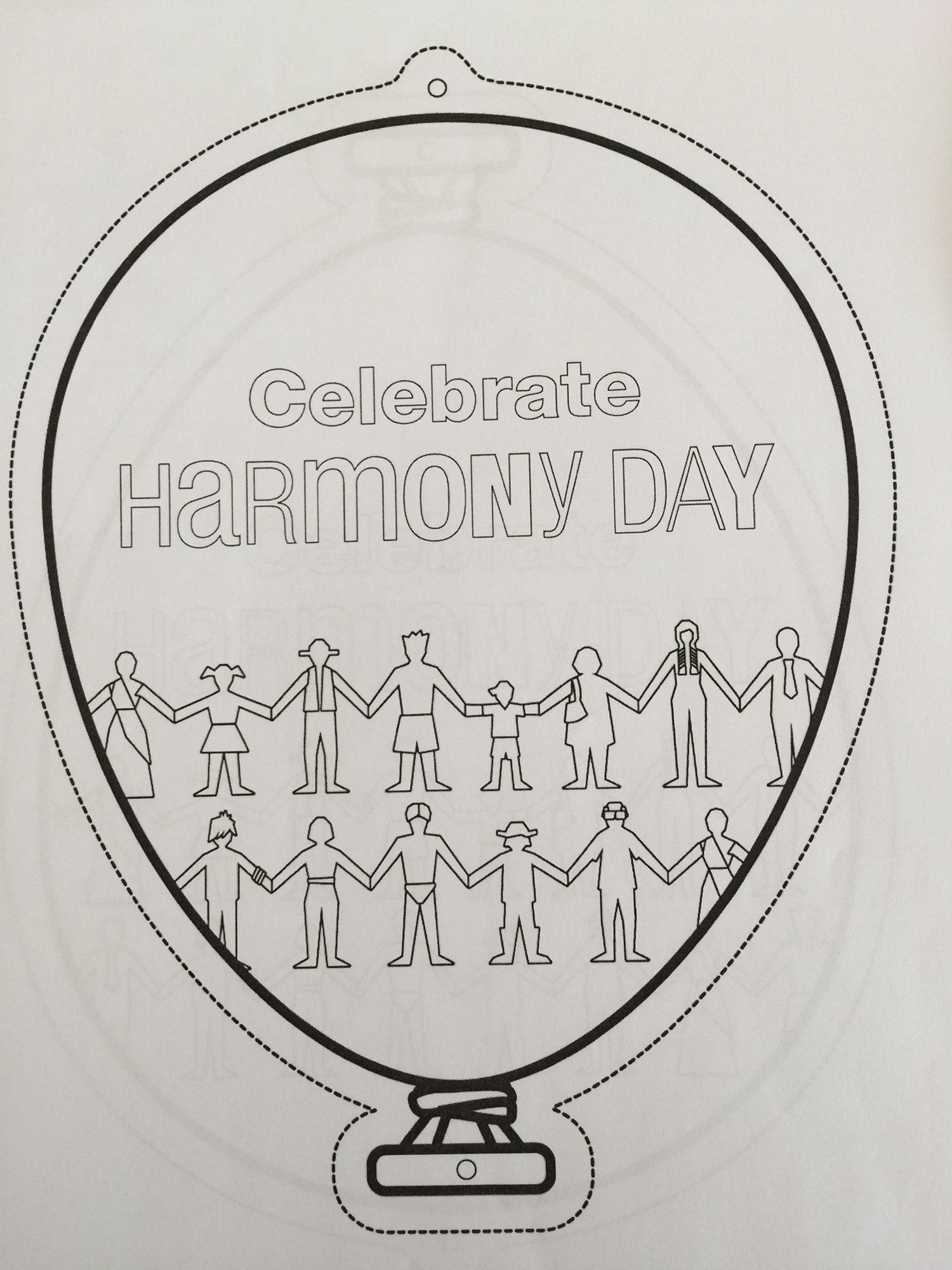 Harmony Day Balloon