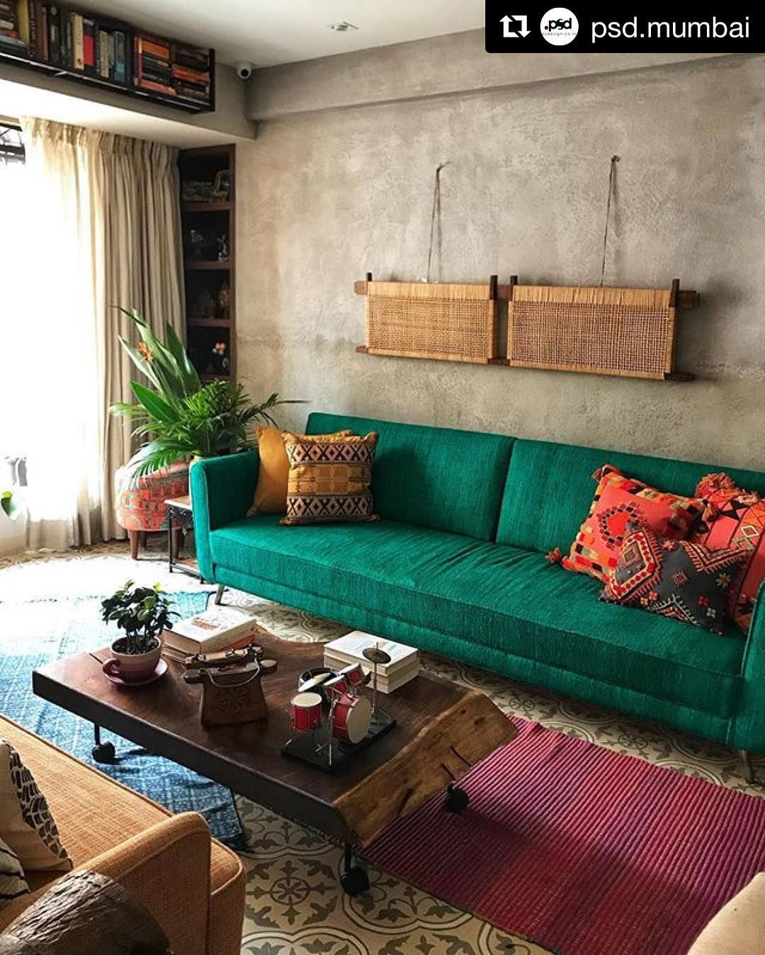 Myheartskippedabeat For This Room Repost Psd Mumbai Get Repost We Are Starting Our Week Living Room Decor Guide Indian Living Rooms Trendy Living Rooms