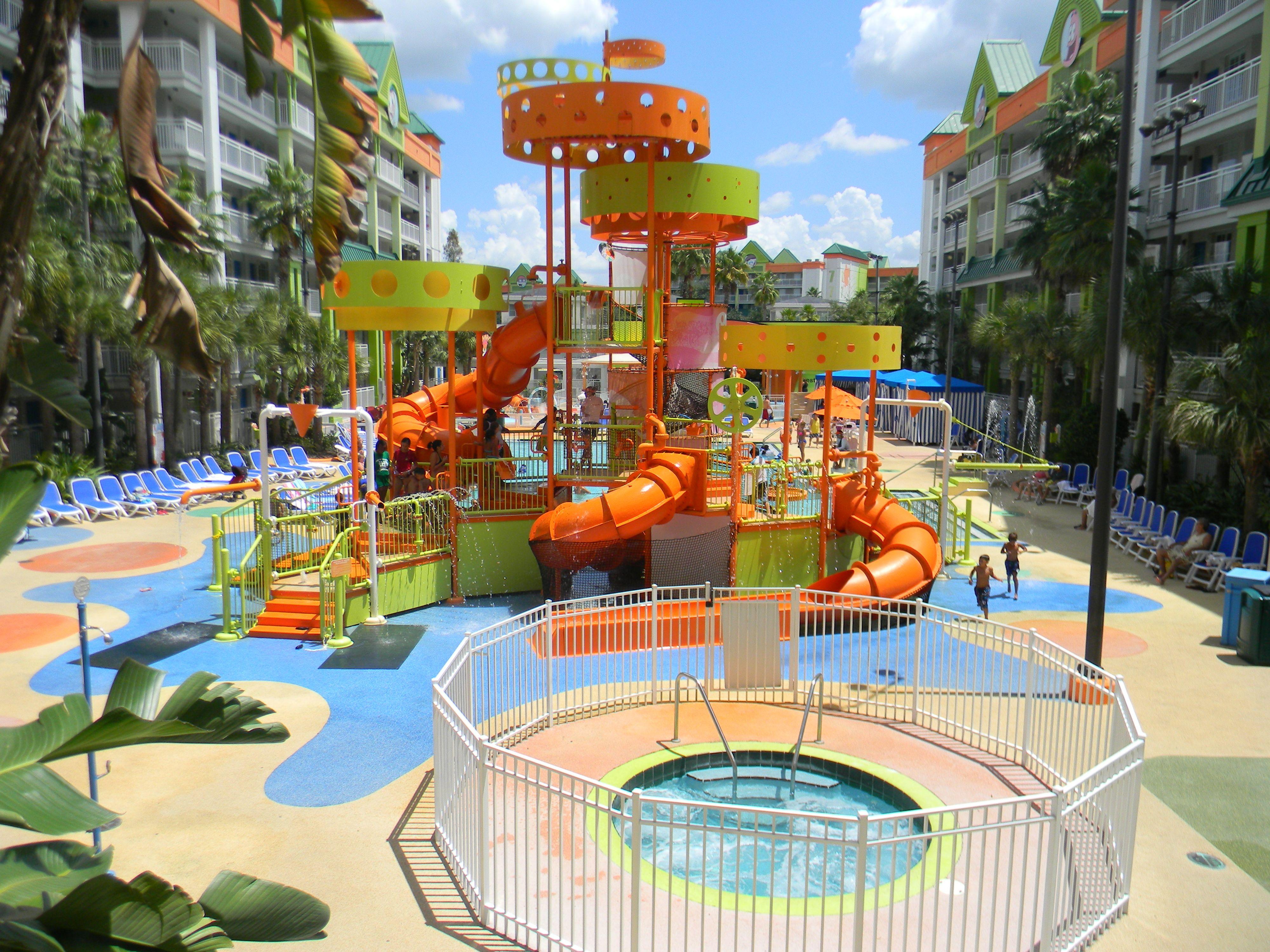 Oasis Pool Nick Hotel In Orlando Fl. #nickhotel