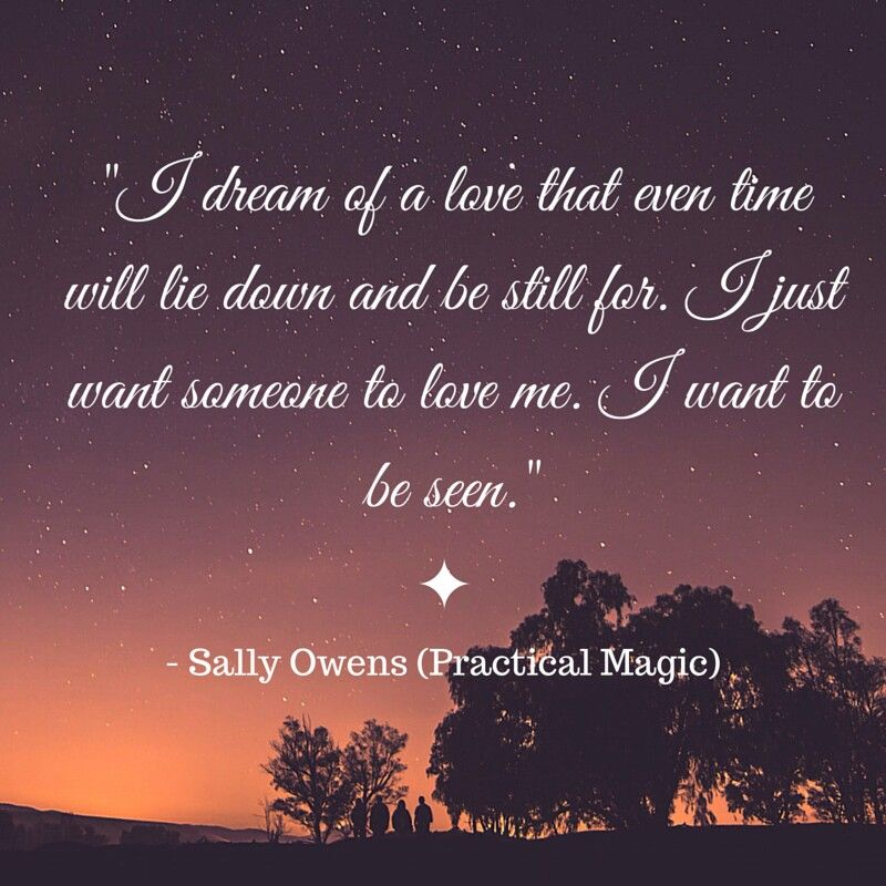 I dream of a love that even time will lie down and be
