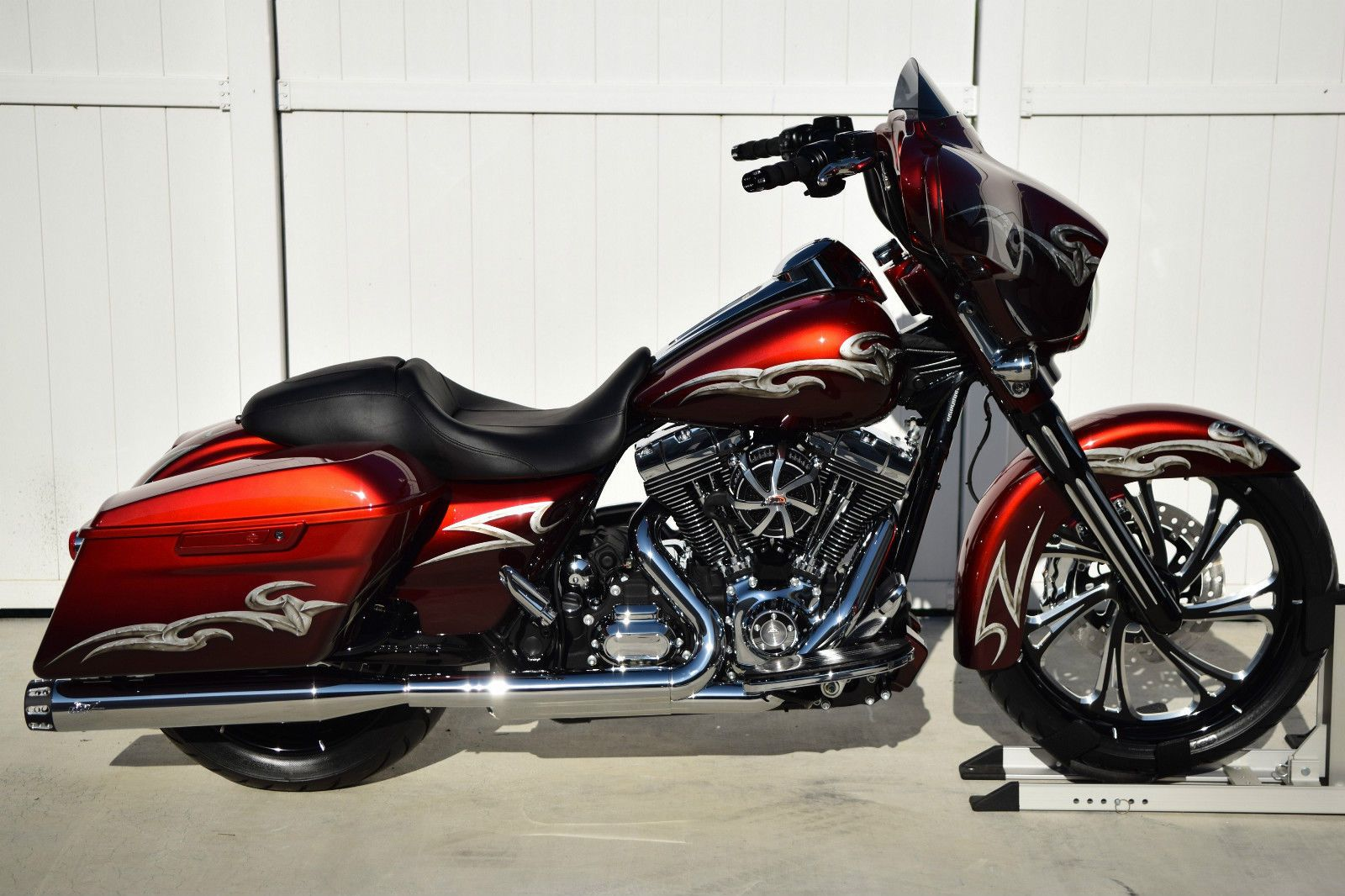 2015 Street Glide Special Custom Metallic Candy Red # ...