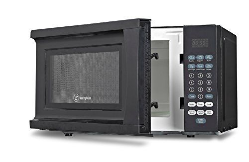 Westinghouse Wcm770b 700 Watt Counter Top Microwave Oven 0 7 Cubic Feet Black Cabinet Http