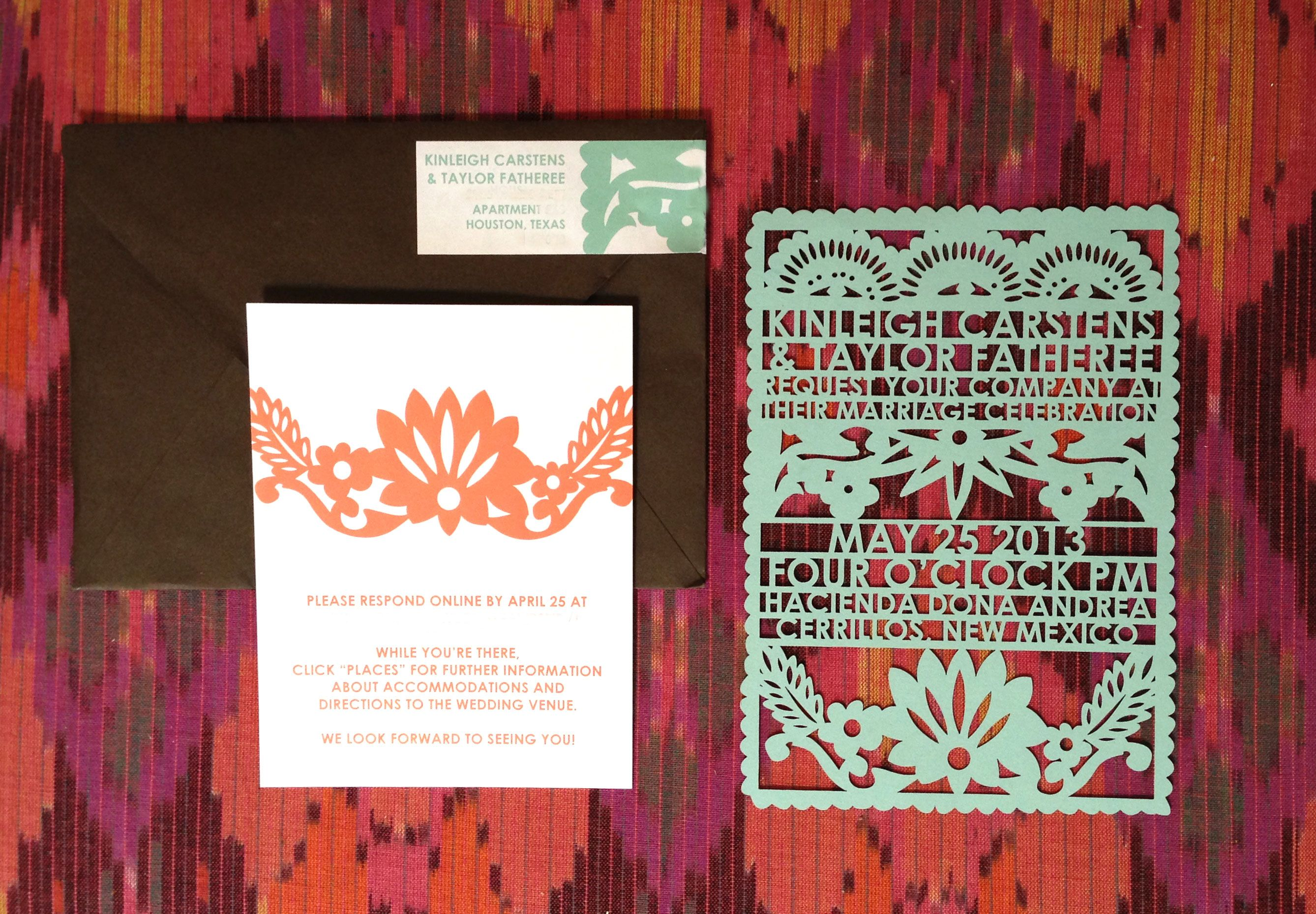 Papel Picado Inspired Invitations This Is Our Idea
