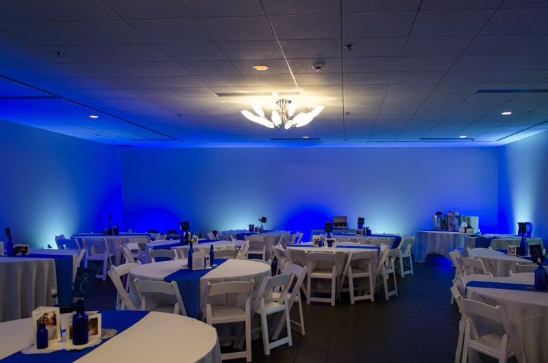 lighting for halls. Blue And White LED Lights For Wedding Reception - Color Changing Flood Act As Wall Washers Bring The Hall To Life. Lighting Halls