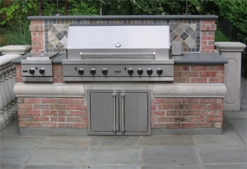 Google image result for for Built in outdoor grill plans