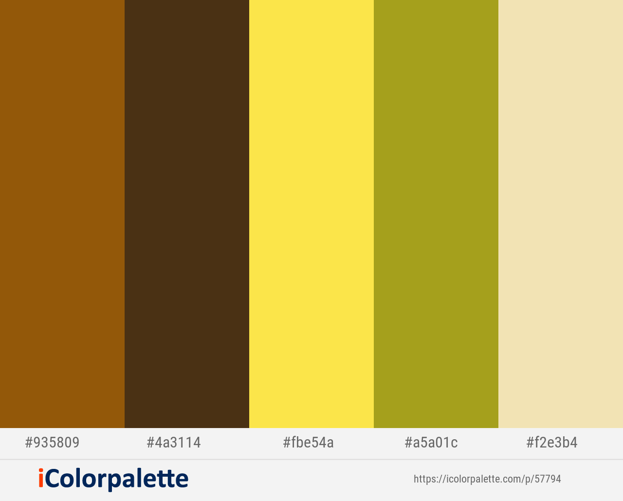 Rusty Nail Punga Gorse Lucky Sidecar Color Scheme Icolorpalette Color Palette Yellow Movie Color Palette Color Set
