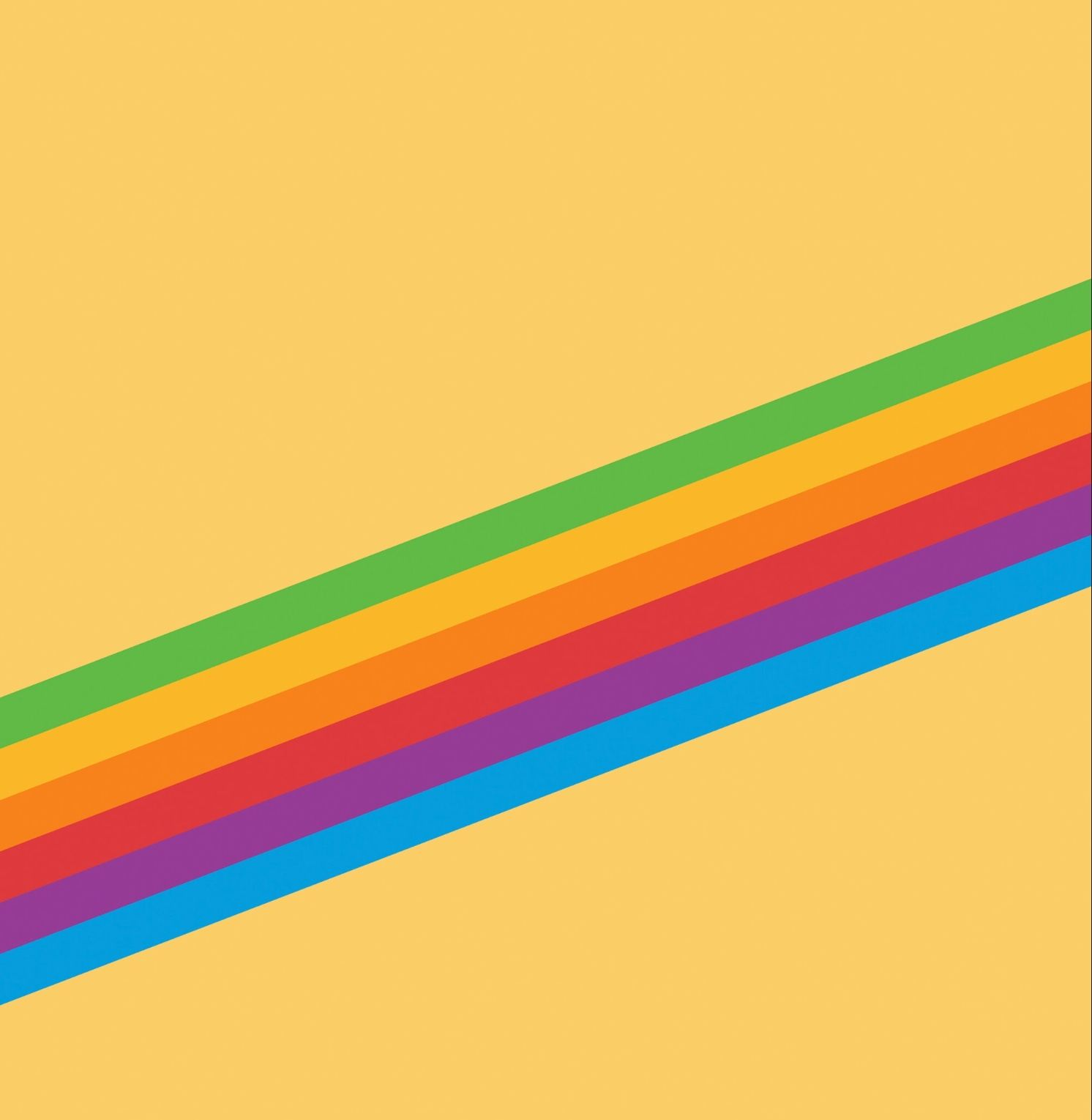Yellow Rainbow Stripe Yellow Wallpaper Ios 11 Wallpaper Iphone Wallpaper