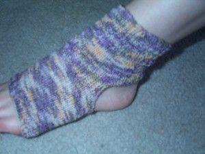 Yoga footie socks knit pattern...get with Shari or Susan ...