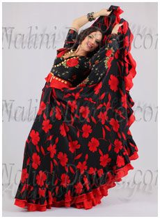 9ccbc0518801 Red on black Gypsy - Russian Romani style (used) | Gypsy in 2019 ...