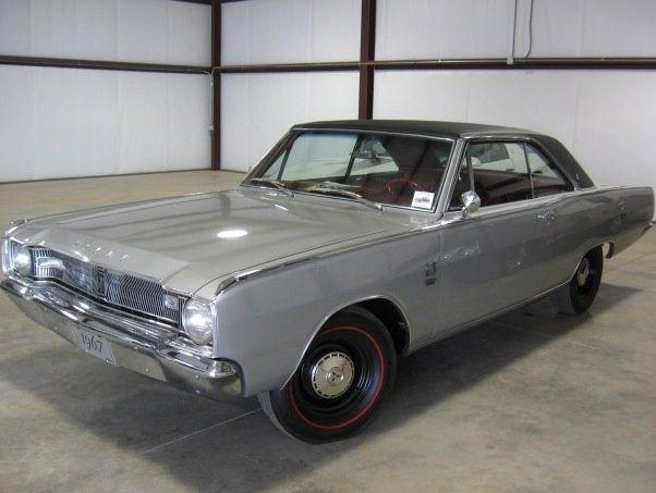 1967 Dodge Dart My First Car 1976 Was Red Black Vinyl Top