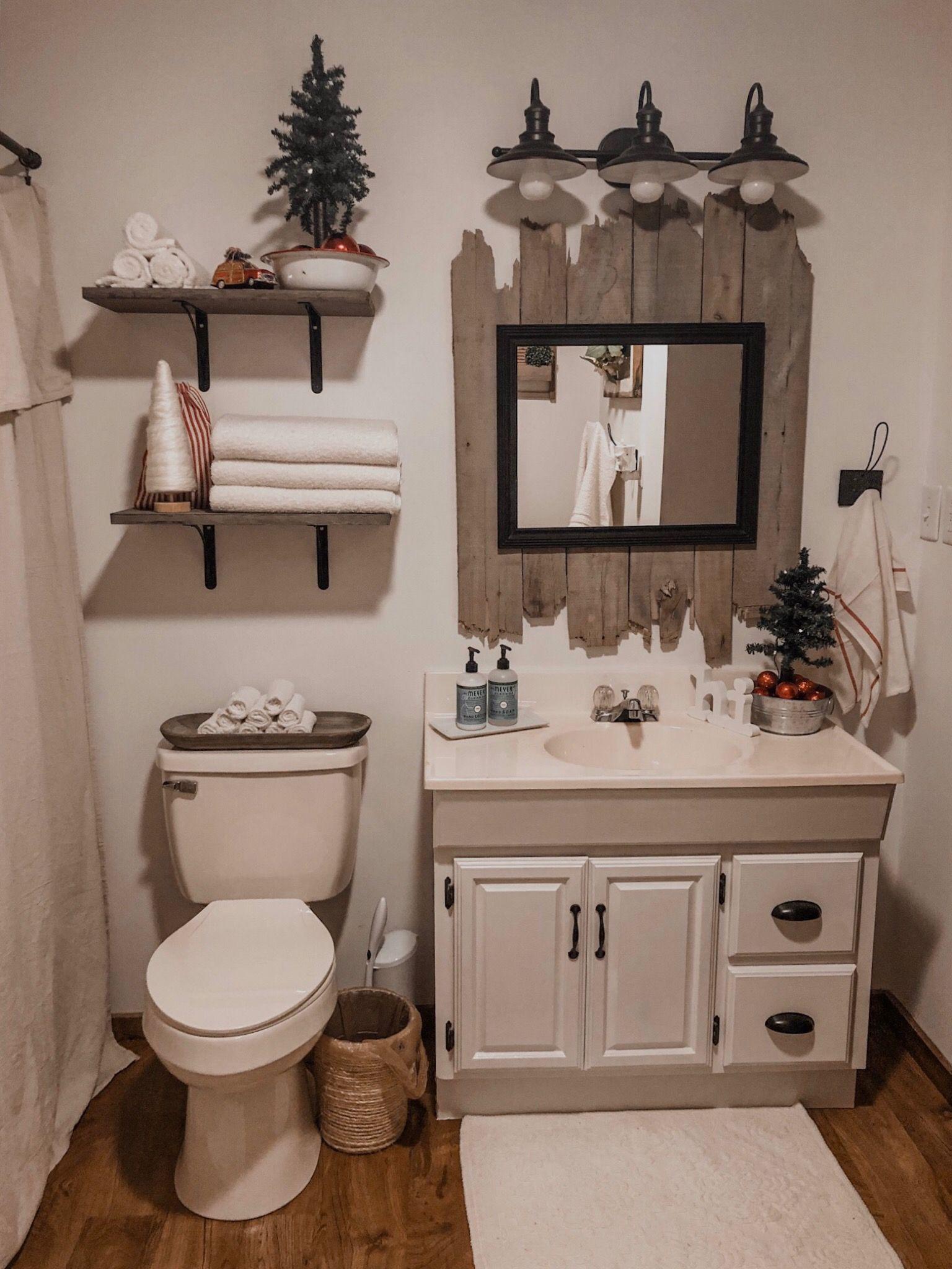 Bathroom Christmas Bathroom Decor Bathroom Decor Christmas Bathroom Farmhouse christmas bathroom decor