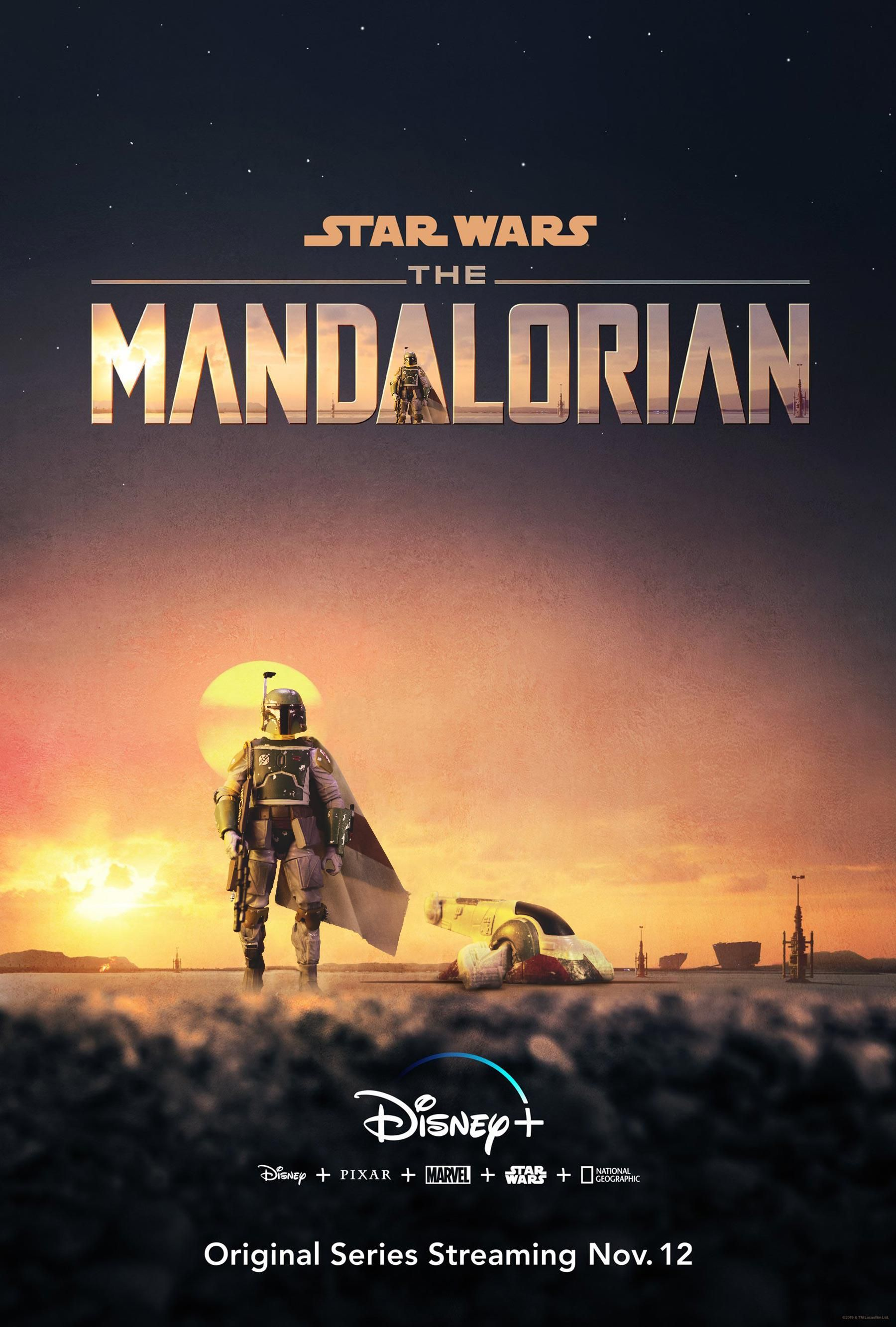 Recreating The Mandalorian poster with my Toy